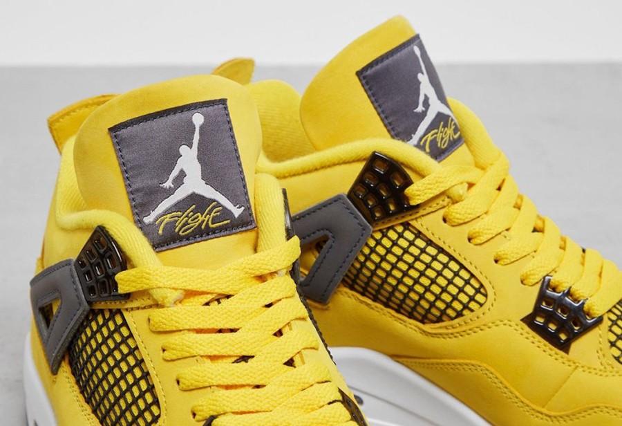 Jordan,Air Jordan 4,Lightning,  万元神鞋即将复刻!电母 AJ4 实物图片曝光!