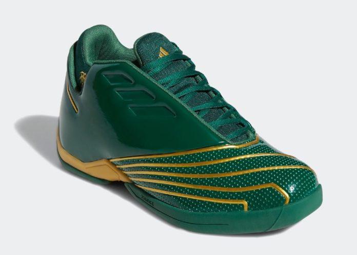 "adidas,T-Mac,SVSM,FY9931  詹姆斯高中战靴!全新 adidas T-Mac 2.0 ""SVSM"" 即将复刻!"