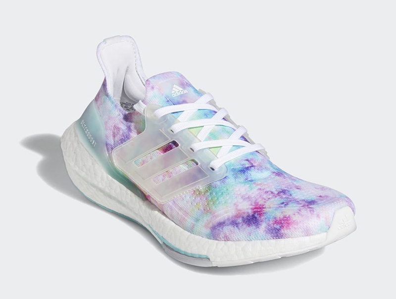 "adidas,Ultra Boost 2021,Tie-Dy  海洋扎染限定!Ultra Boost 21 ""Tie-Dye"" 现已发售!"