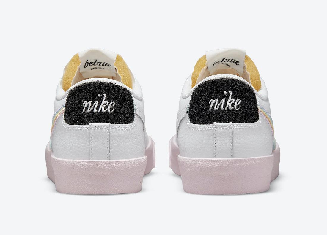 Nike,Blazer Low,be true,曝光  彩虹 Swoosh 装扮!全新 Nike Blazer Low 官图曝光!