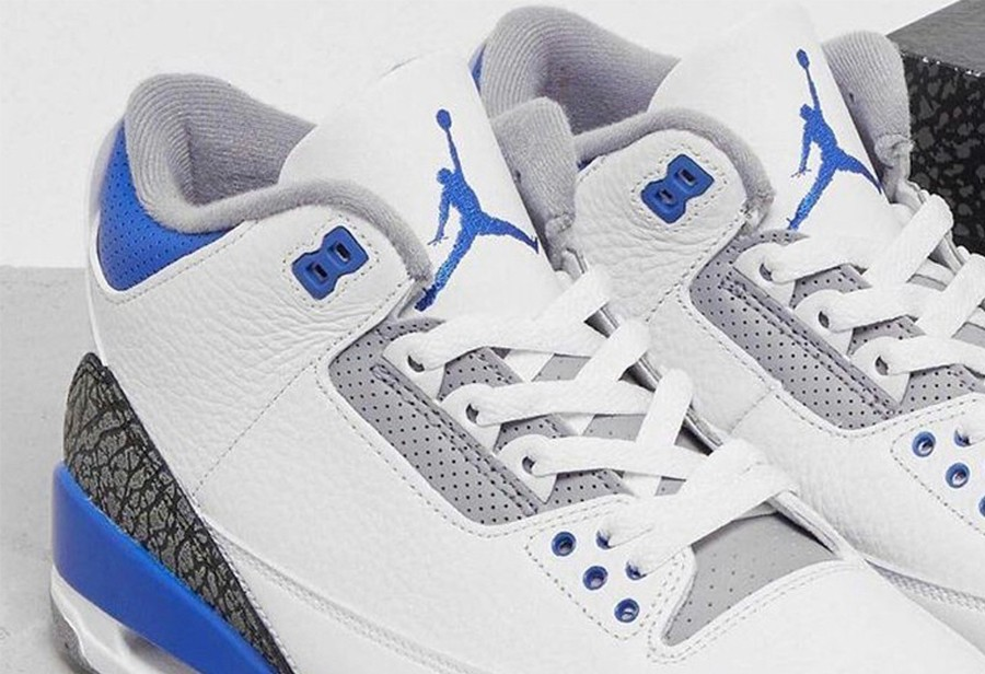 Jordan Brand,Air Jordan 3,AJ3,  酷似「闪电联名」!全新 AJ3 发售信息曝光!