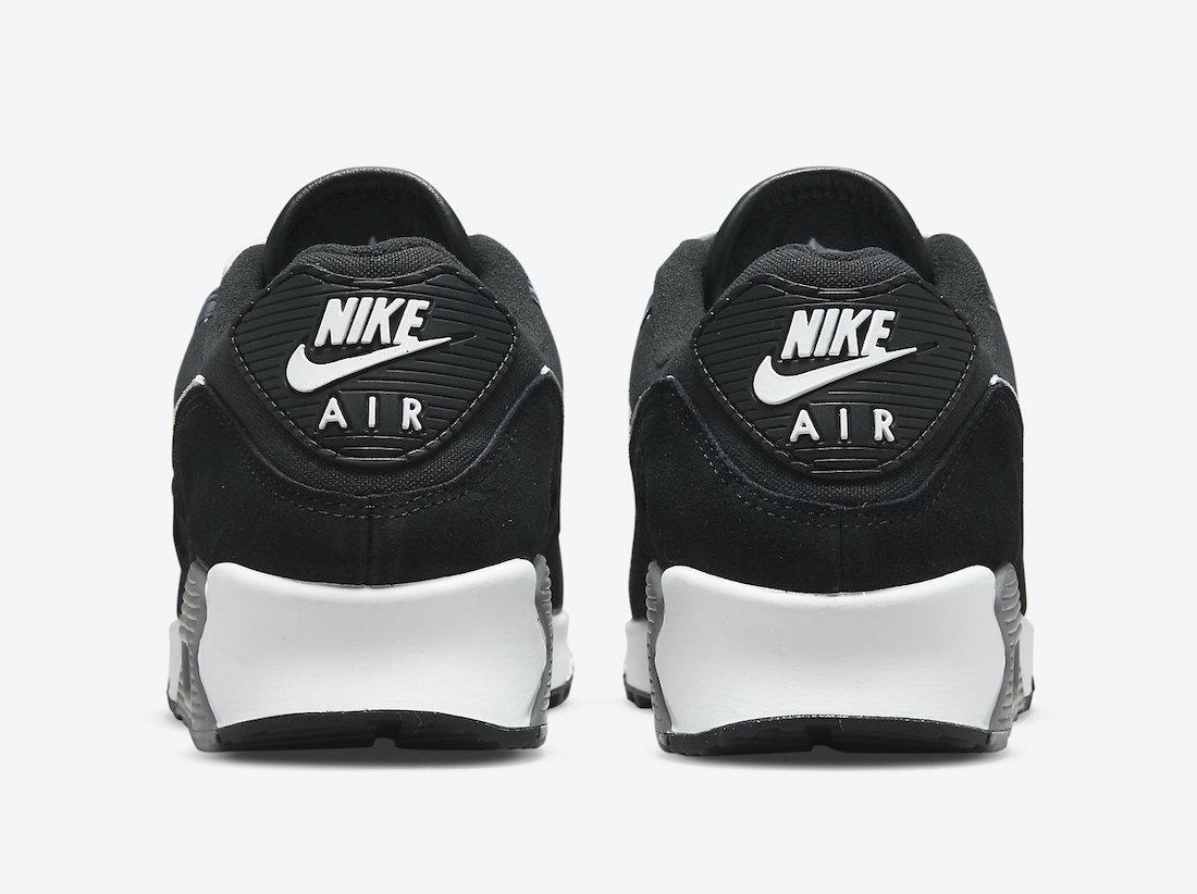 Nike,Air Max 90,曝光  百搭黑白配色 + 多种皮质覆盖!Air Max 90 全新配色官图曝光!