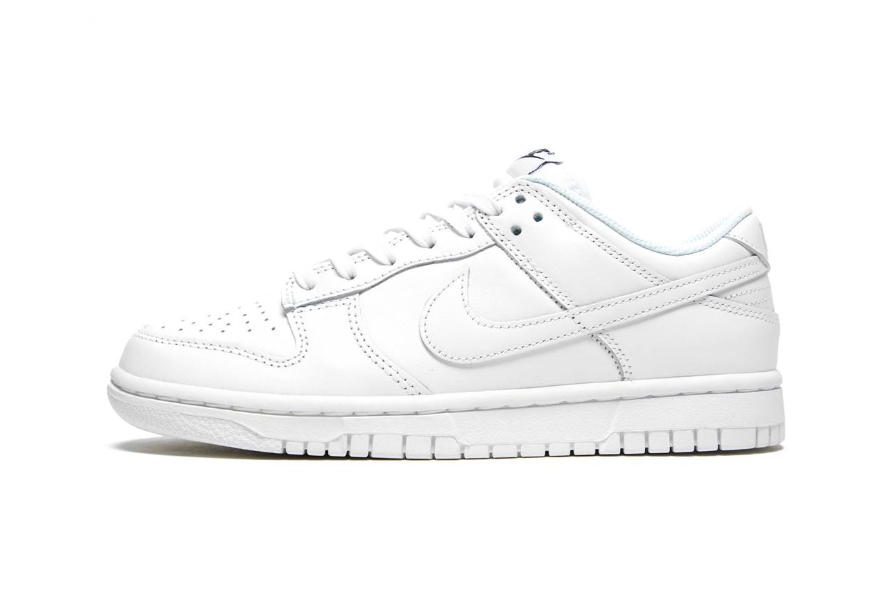 Dunk,Nike  夏天就是要穿小白鞋!纯白 Dunk Low 实物曝光!