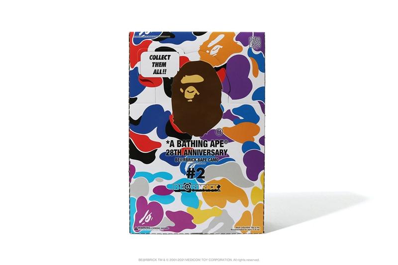 BAPE,BE@RBRICK  刚刚发售!款款必火的 BAPE x 积木熊「联名盲盒」太好看了!
