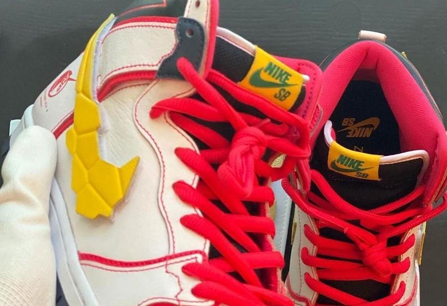 Nike,Dunk High  疑似「高达」联名!两款全新 Dunk High 实物图曝光!