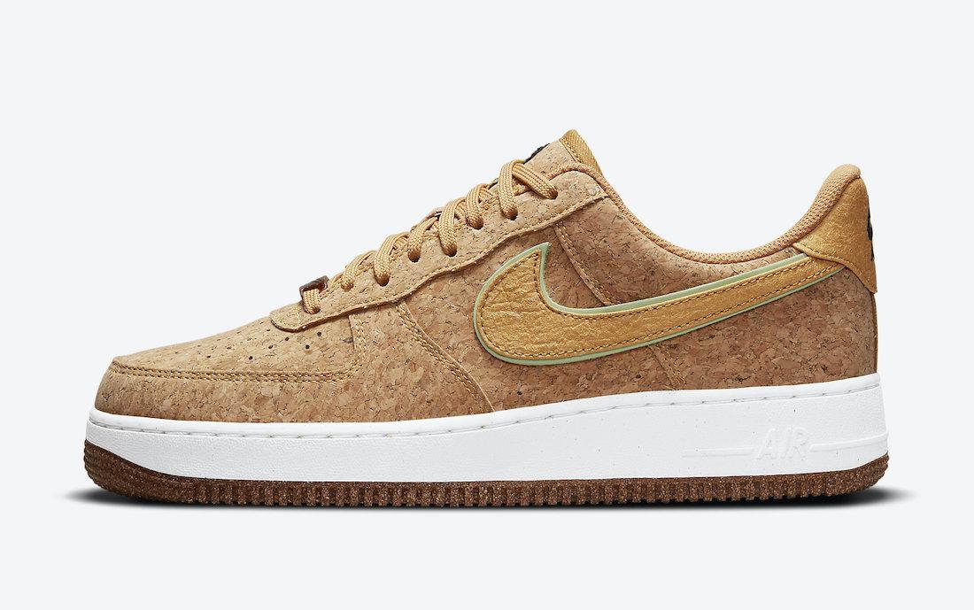 Air Force 1,Nike,曝光  全鞋身软木塞元素加持!Air Force 1 全新配色官图曝光!