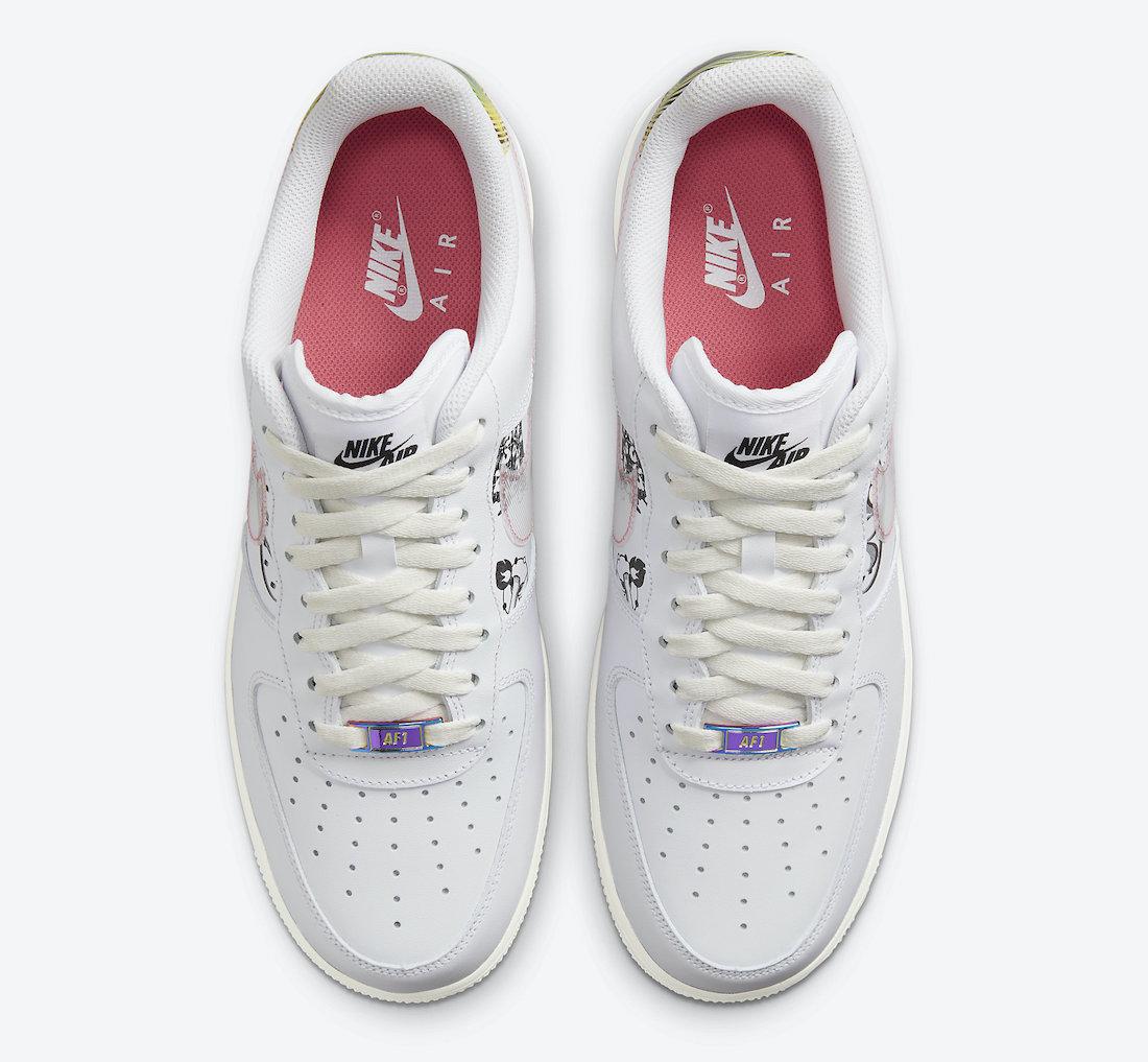 Nike,Air Force 1,曝光  淬火金属鞋带扣 + 抽象画点缀!全新配色 Air Force 1 官图曝光!