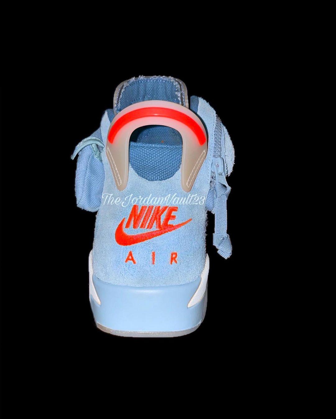 Travis Scott,Air Jordan 6,AJ6,  太美了!「双兜」TS x AJ6 新配色泄露!网友:一定要市售!