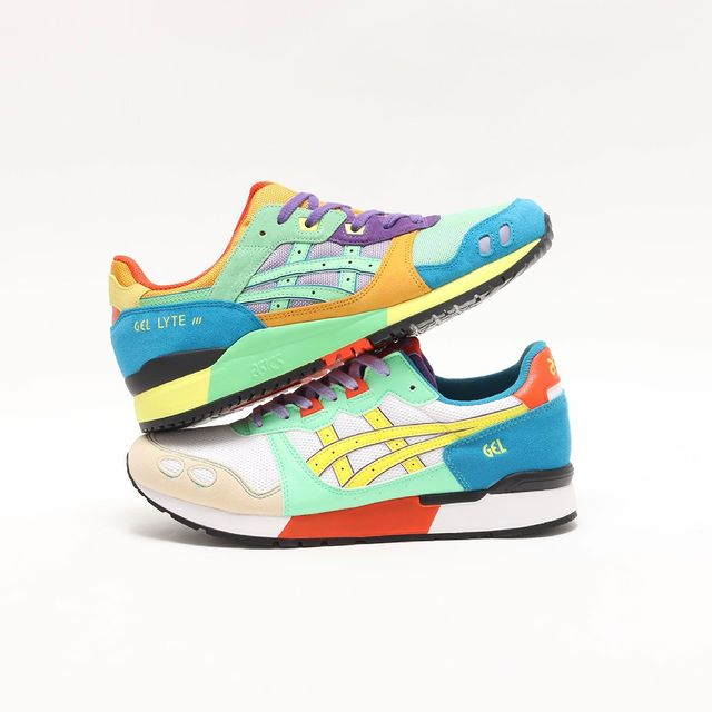 ASICS,发售  多色拼接鞋面装扮! ASICS全新配色即将发售!