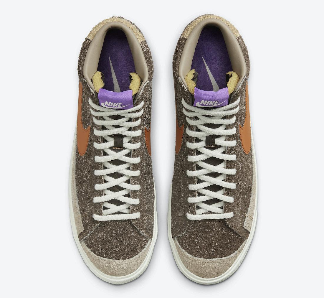 Nike,Blazer Mid,DM7581-200  质感爆棚!全新配色 Nike Blazer Mid 官图曝光!