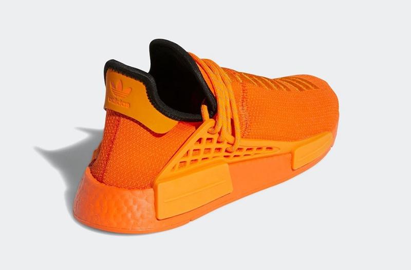 adidas,Pharrell,NMD Hu,GY0095  清新「橙子」造型!全新菲董 Hu NMD 即将登场!