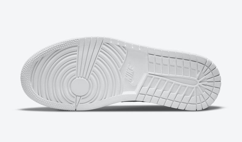 AJ1,Air Jordan 1 Low,DC9508-10  一改以往设计!全新 AJ1「小白鞋」官图曝光!