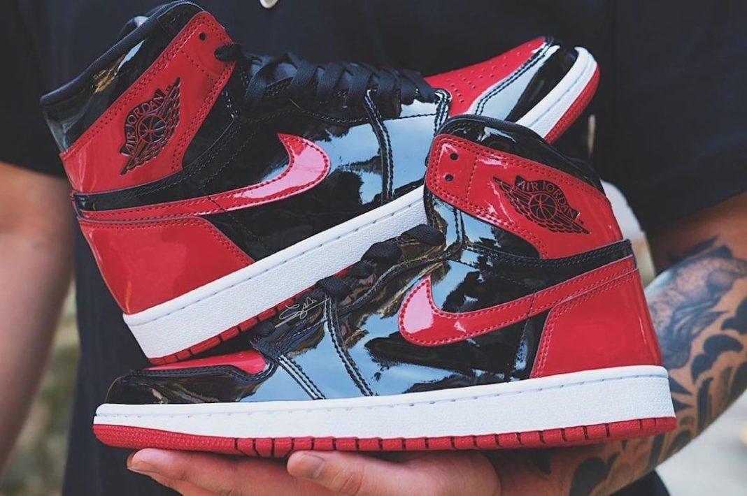Jordan,Air Jordan 1,AJ1,555088  时隔 5 年再次回归!AJ1 黑红禁穿最新实物曝光!
