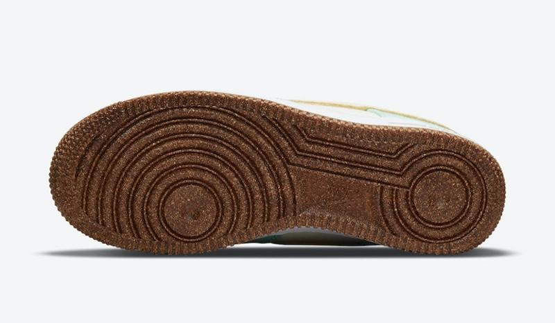 Nike,Air Force 1 Low,Happy Pin  可爱「菠萝」造型质感十足!全新配色 AF1 官图曝光!