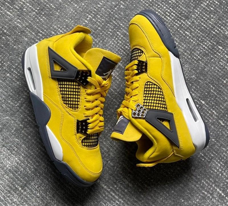 AJ4,Air Jordan 4,Lightning,CT8  「天价神鞋」年底回归!电母 AJ4 最新实物图曝光!