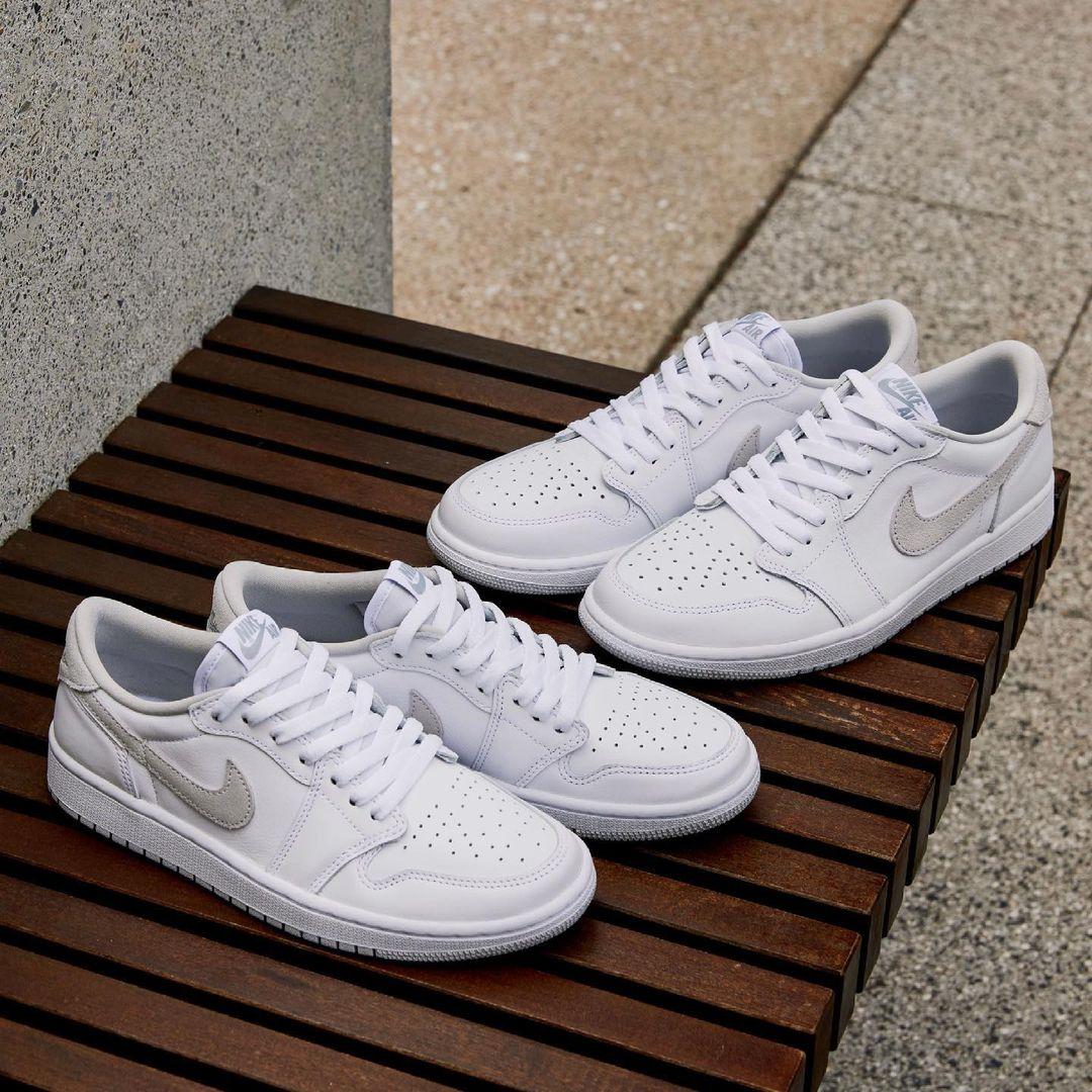 Nike,Air Jordan 1 Low,小白鞋,曝光   夏日百搭小白鞋!Air Jordan 1 Low 新配色实物图曝光!
