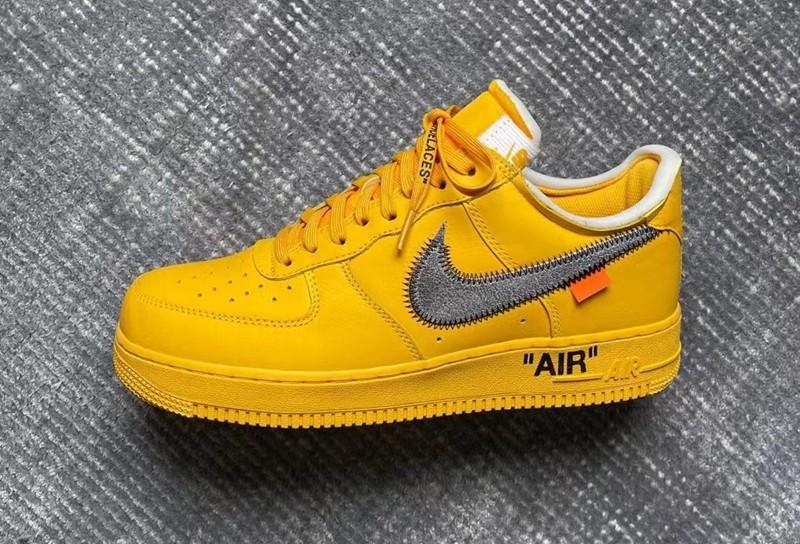 Nike,Air Force 1 Low,OFF-WHITE  妥妥的天价神鞋!詹姆斯同款 OW x AF1 下月登场!