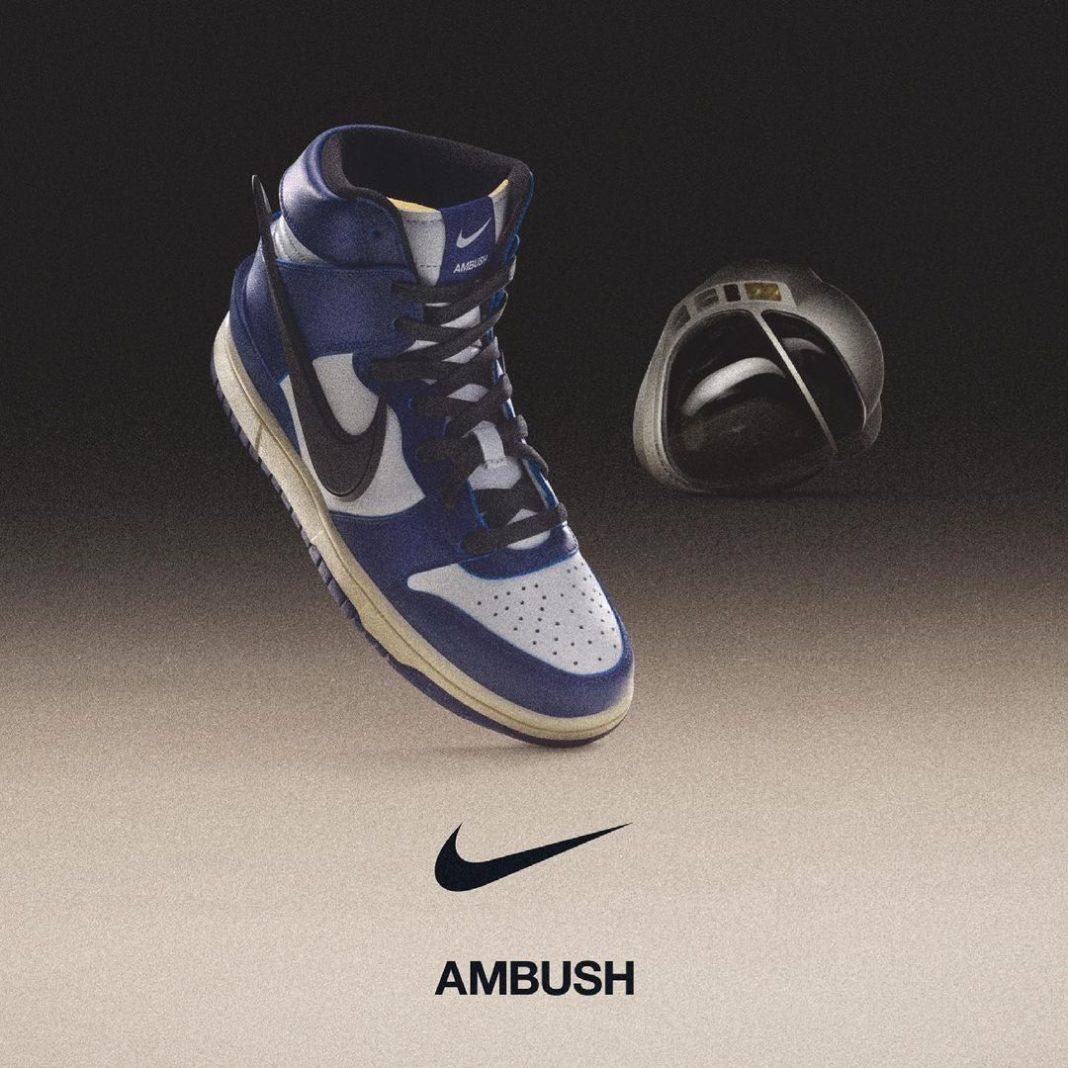Nike,Dunk High,AMBUSH  下一款市售配色?主理人亲晒「荧光绿」AMBUSH x Dunk Hi
