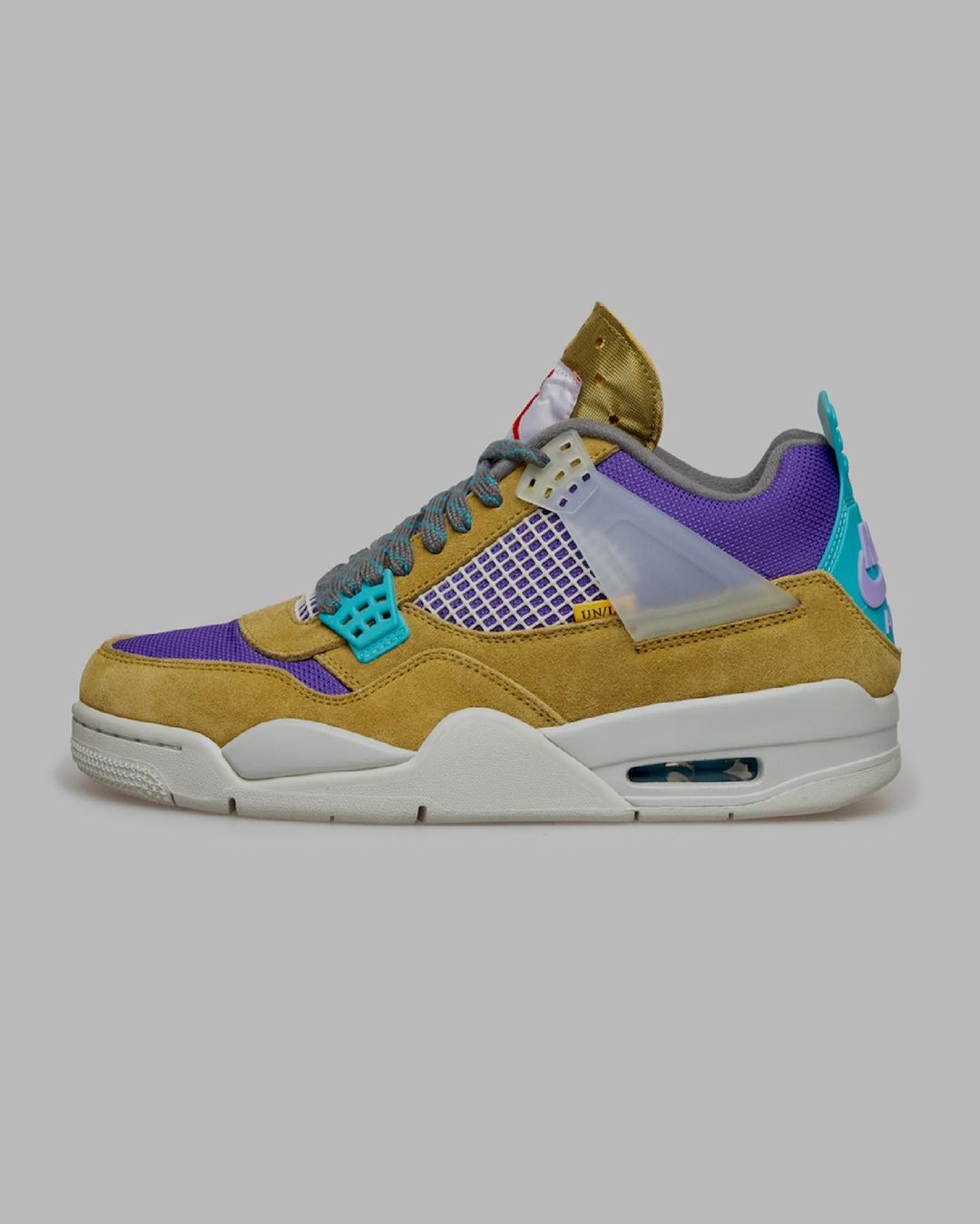Nike,Air Jordan 4,AJ4,DJ5718-3  即将发售!两款全新 Union x AJ4 官图曝光!