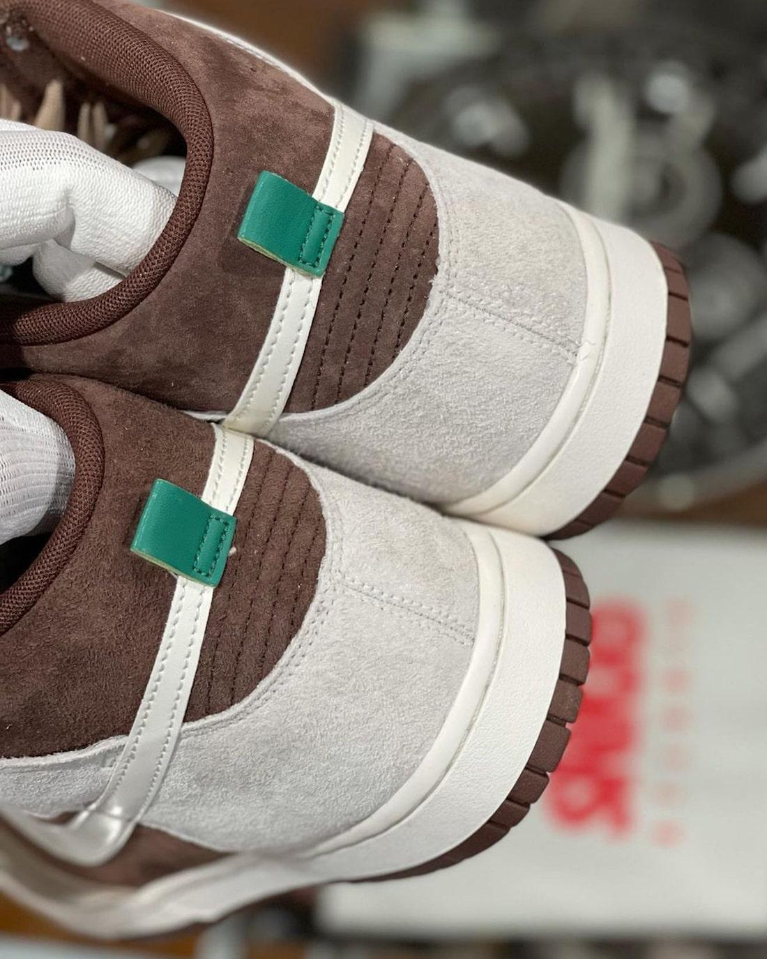 巧克力,配色,加持,今年,Dunk,依旧,有着,超高,  巧克力配色加持!Nike Dunk Hi 最新实物曝光!