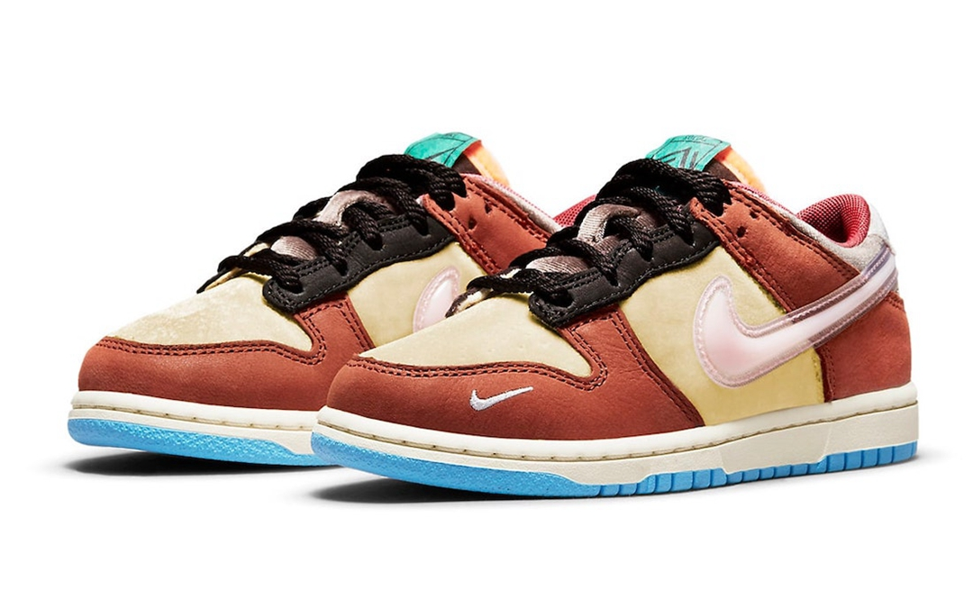 Nike,Dunk Low,Social Status,DM  甜美气氛不输「情人节」!两款 Dunk Low 全新联名官图曝光!