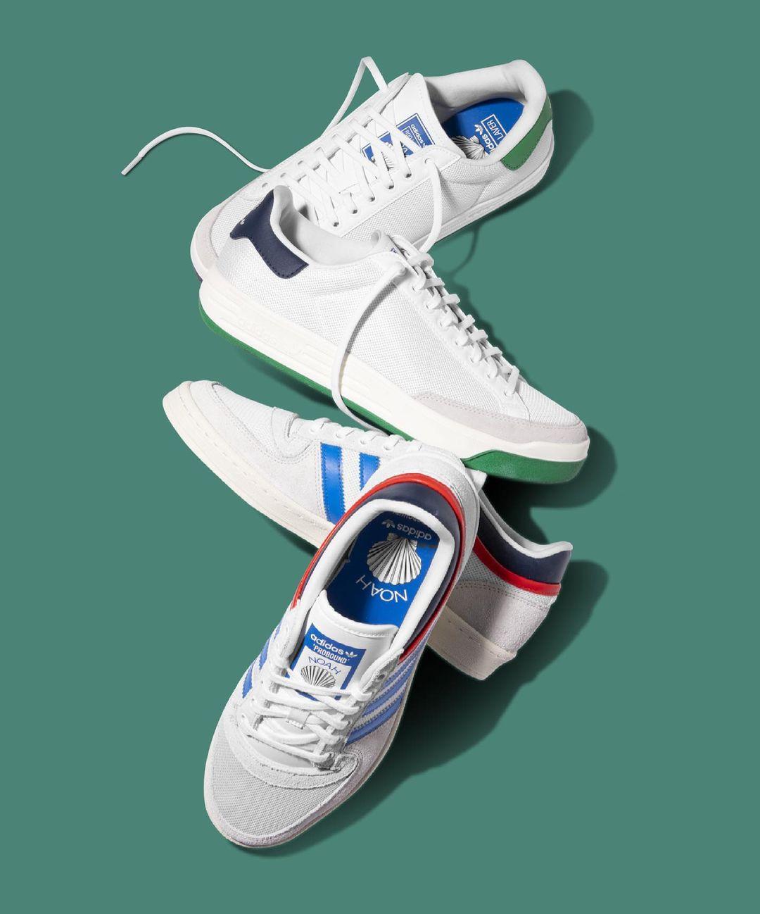 NOAH,adidas  海洋风格 + 花卉元素!全新 NOAH xadidas 联名即将发售!