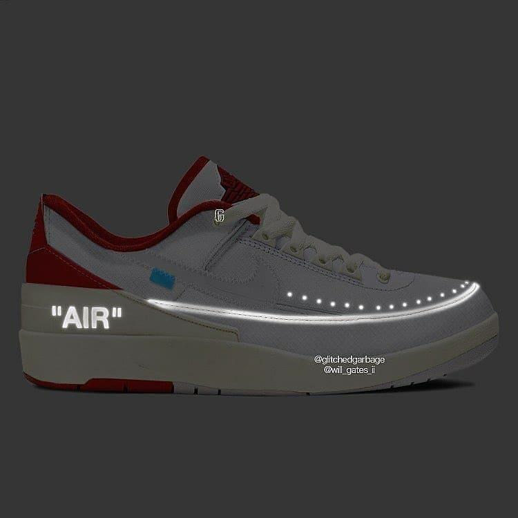 DJ4375-106,OFF-WHITE,Air Jorda  鞋身带签名!?OFF-WHITE x AJ 新联名首次曝光!鞋型真想不到...