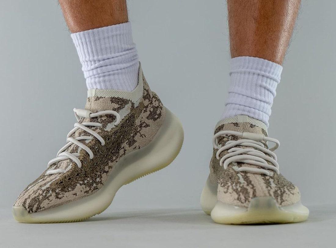 adidas,Yeezy Boost 380,GZ0473,  大地色 Yeezy 新品又来了!上脚照首次曝光!