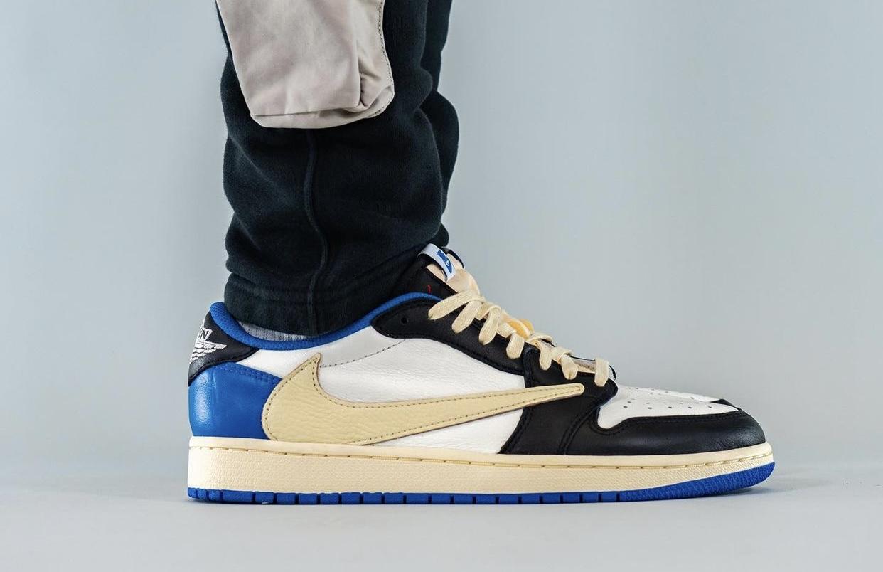 Nike,Travis Scott,fragment Des  低帮「闪电倒钩 AJ1」也要发售了!特殊鞋盒首次曝光!