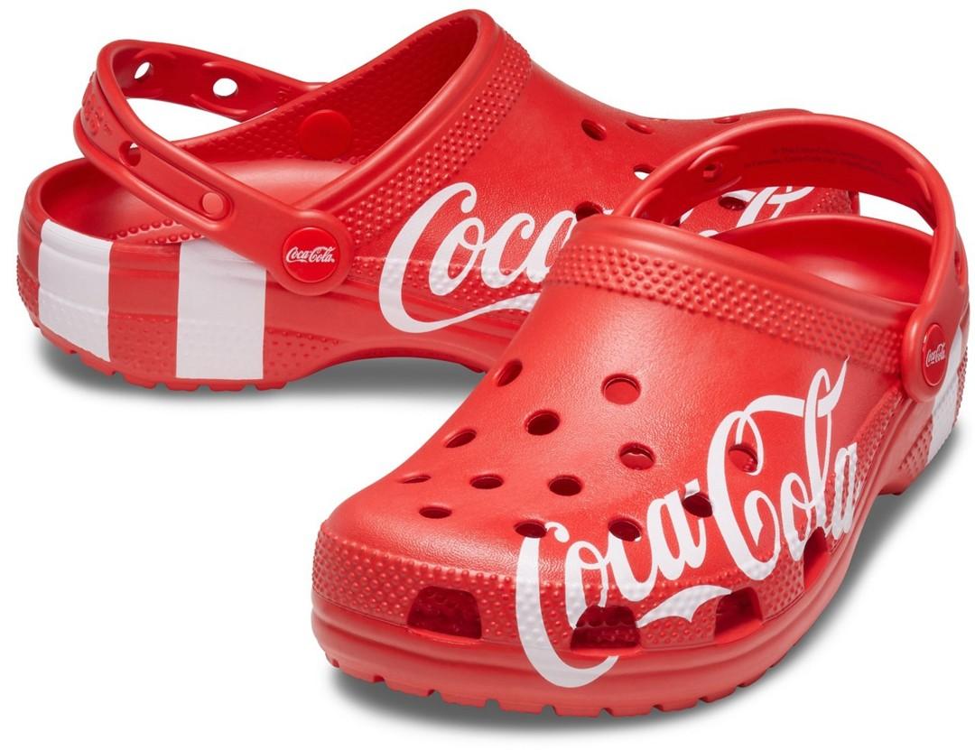 Coca-Cola 90's,Coca-Cola Class  周雨彤上脚!又是跨界联名!Crocs x 可口可乐本周登场!