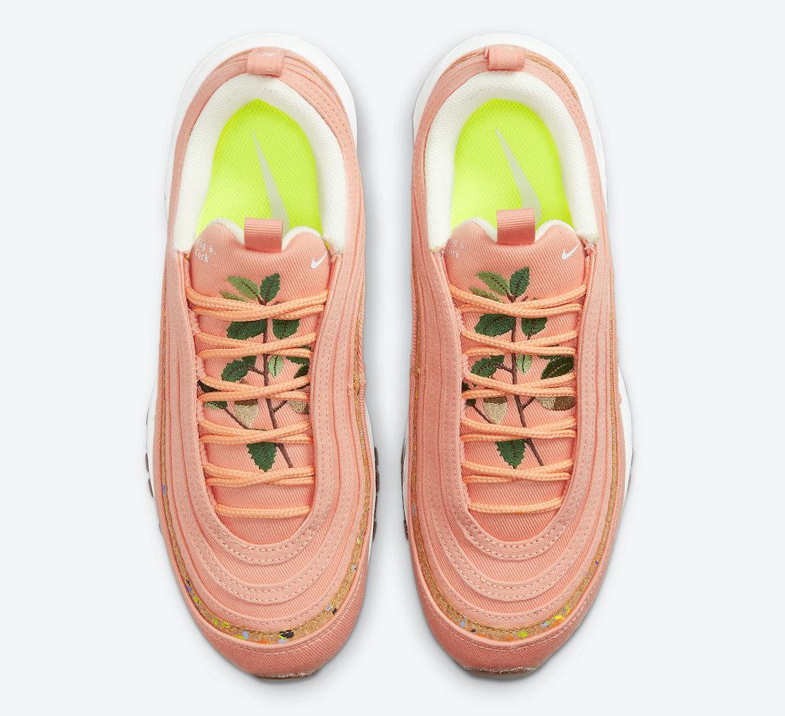 Nike,Air Max 97,DC4012-800  软木塞鞋底!全新 Air Max 97 官图曝光!