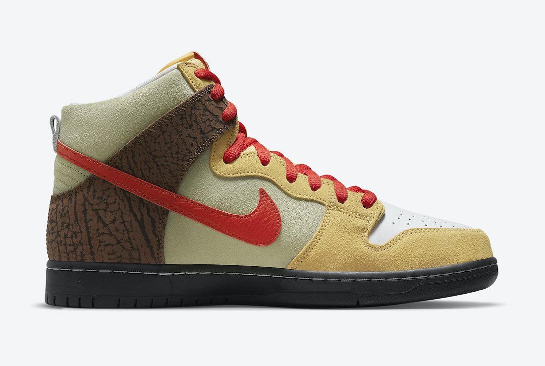 Nike,Dunk High,CZ2205-700,Keba  以食物为灵感!全新配色 Dunk Hi 即将发售!