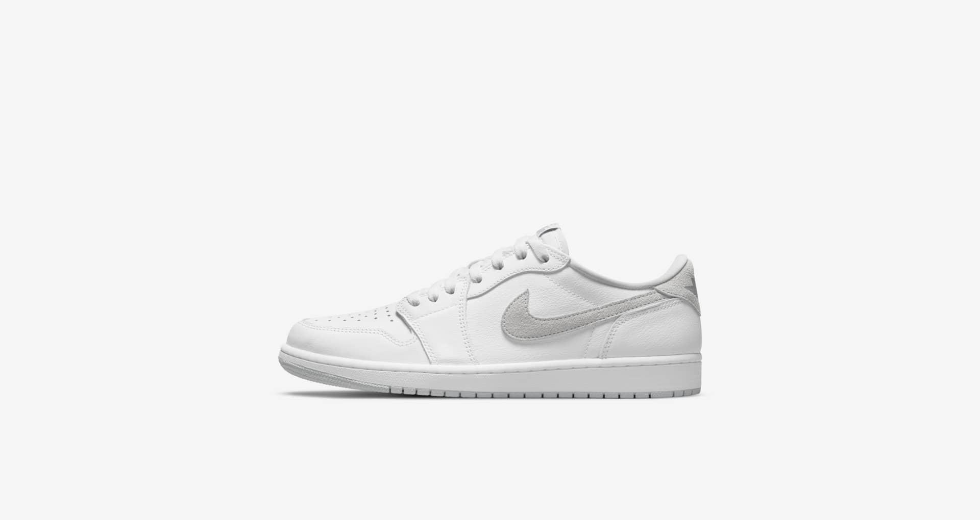 Jordan,Air Jordan 1 Low,AJ1,CZ  明日发售提醒!「 Vibe 风小白鞋」AJ1 Low 已上架 SNKRS!