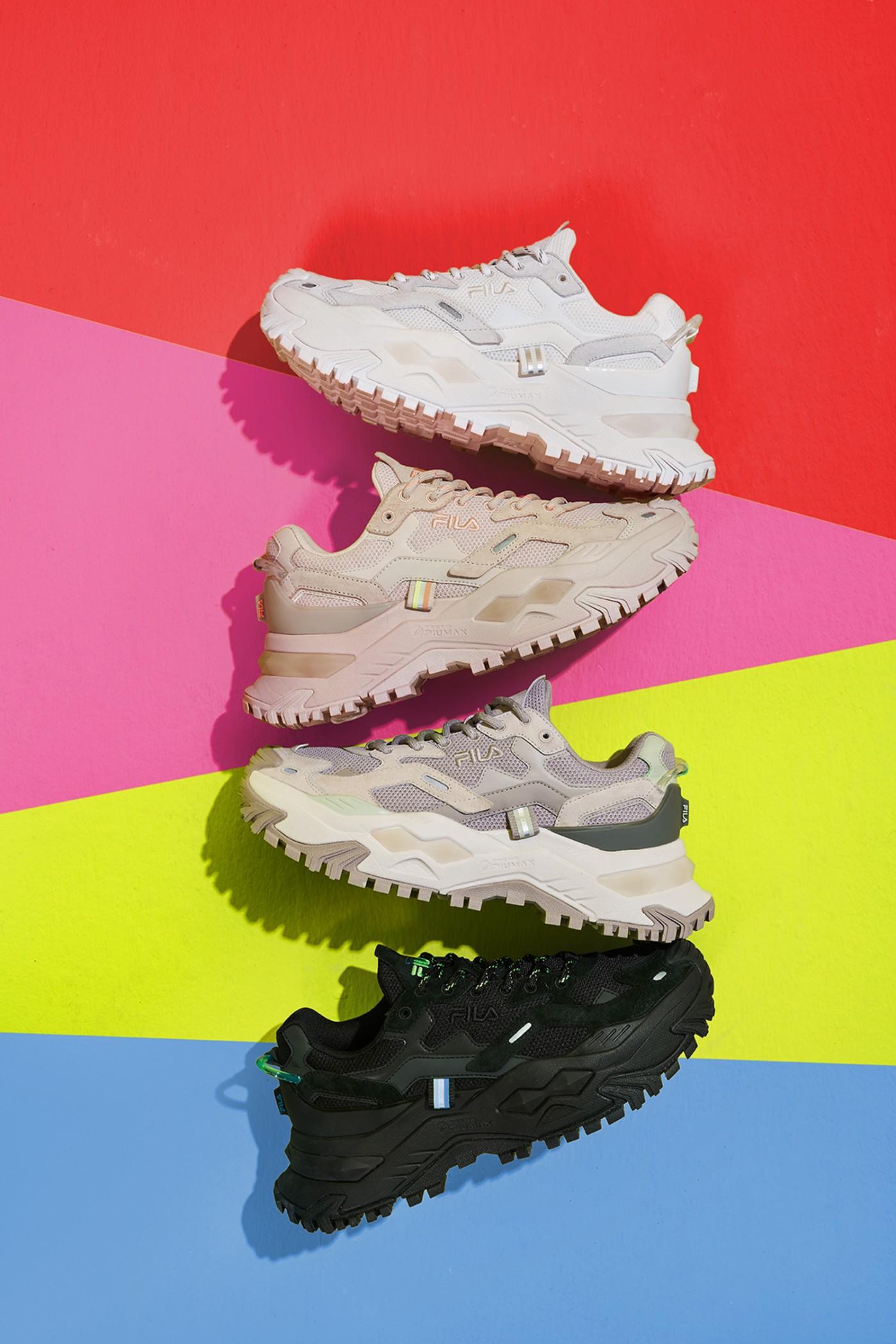 FILA FUSION,发售,BIANCO  增高 4.5 公分!这双鞋就是全新「长腿神器」!刚刚发售!