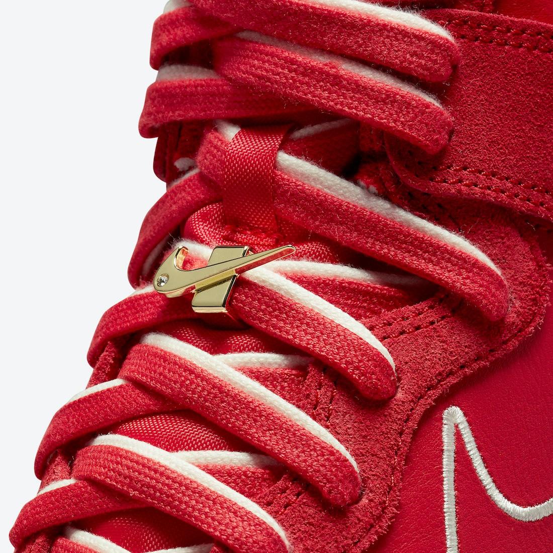 "Nike,Dunk,High,"",First,Use,"",诞  双鞋带 + 镶钻鞋带扣!全新配色 Nike Dunk Hi 官图曝光!"