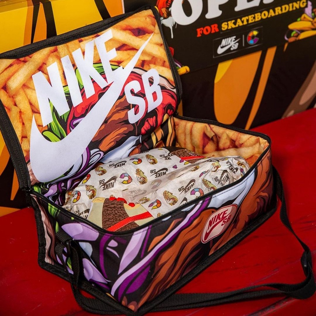 Color Skates,Nike,SB Dunk High  特殊包装给人看馋了!全新「烤肉」SB Dunk Hi 即将登场!