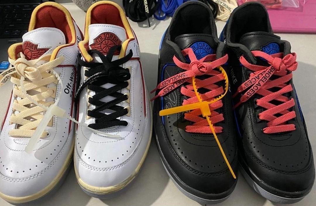 OFF-WHITE,AJ2,Air Jordan 2 Low  发售日期确定!「芝加哥」OW x AJ2 最新实物图曝光!你爱了吗?