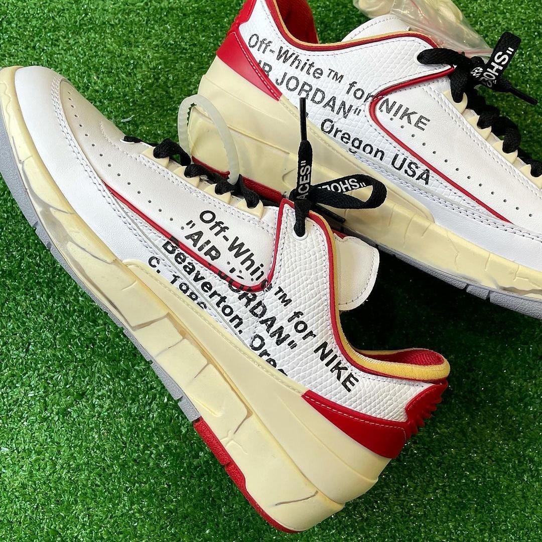OFF-WHITE,AJ2,Air Jordan 2 Low  飞翼鞋盒太酷了!OW x AJ2 最新图片泄露!下月正式发售!