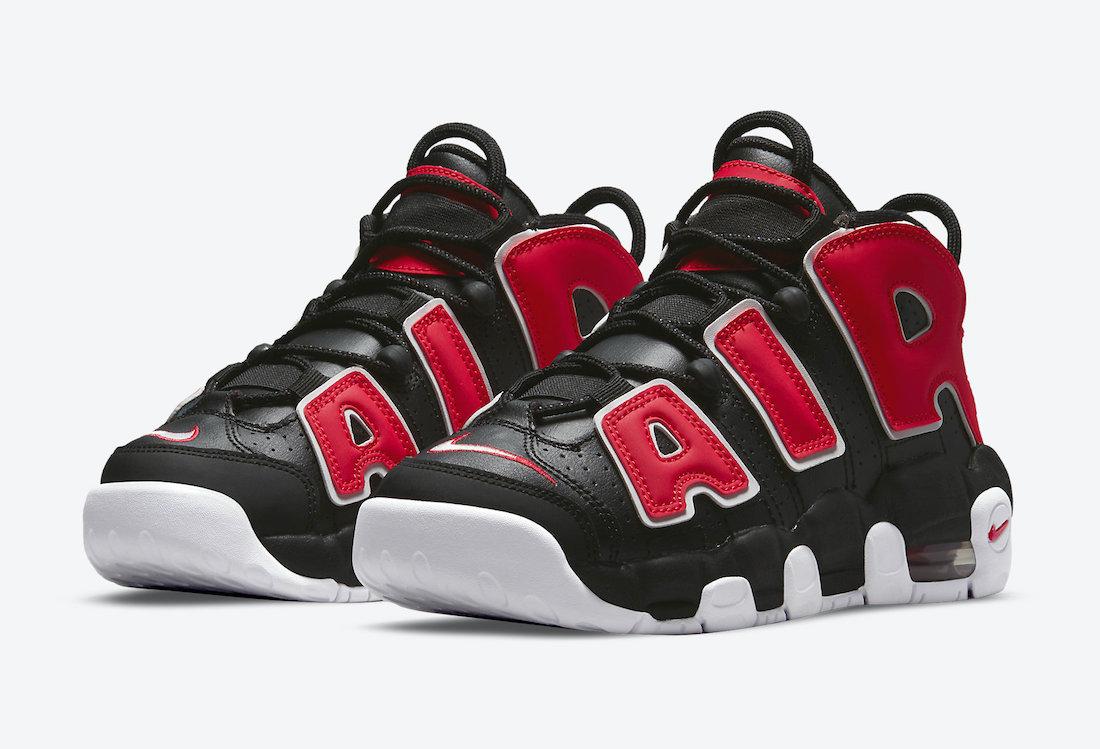 Nike,Air More Uptempo,DM3190-0  经典黑红配色!皮蓬「大 AIR」 官图曝光!