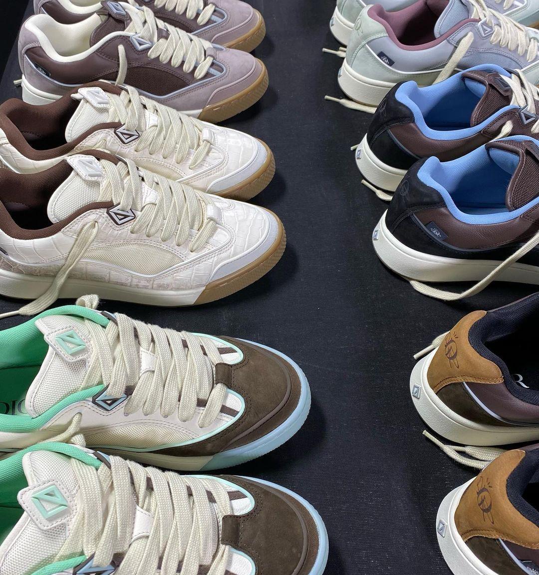 Dior,Cactus Jack,Travis Scott  Travis Scott x Dior 新鞋实物曝光!你觉得能火吗?