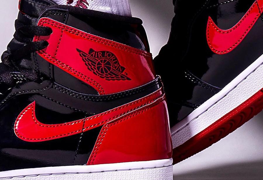 Jordan,Air Jordan 1,AJ1  黑红 AJ1 禁穿时隔五年再度回归!最新上脚照曝光!