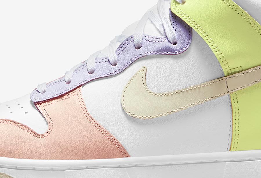 Nike,Dunk Hi,DD1869-108,彩蛋  「彩蛋」Dunk Hi 上架 SNKRS!7 月 1 日正式发售!