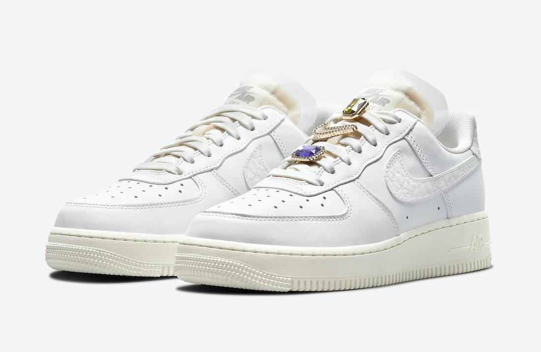 Nike,Air Force 1,DN5463-100  奢华感爆棚!全新 Air Force 1 官图曝光!