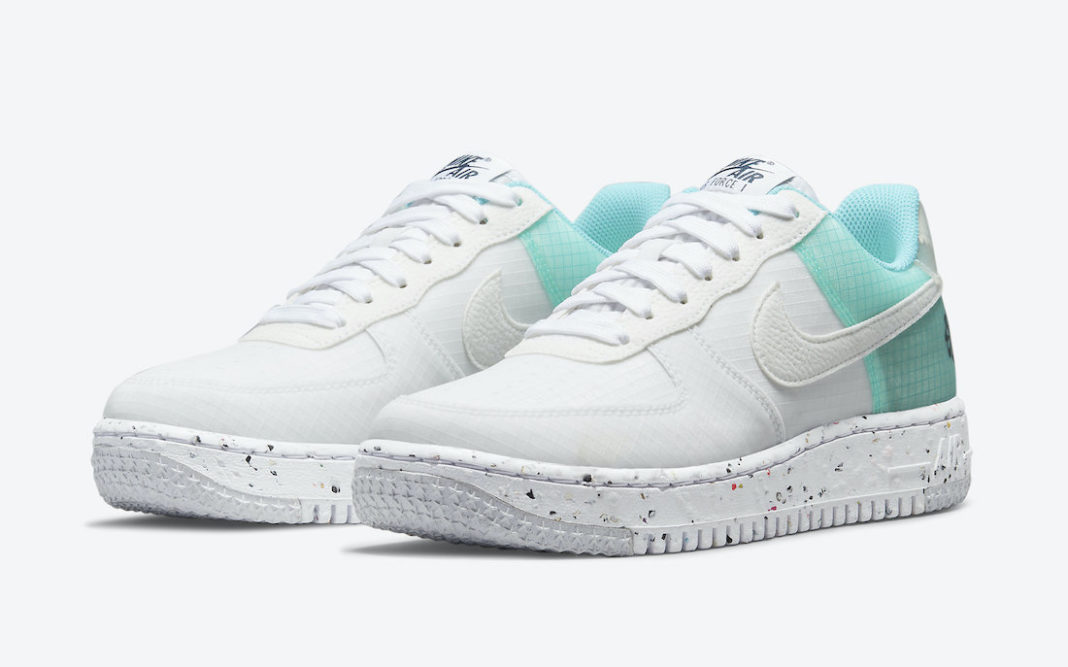 Nike,Air Force 1,Crater,DO7692  防撕裂鞋面!全新 Air Force 1 官图曝光!