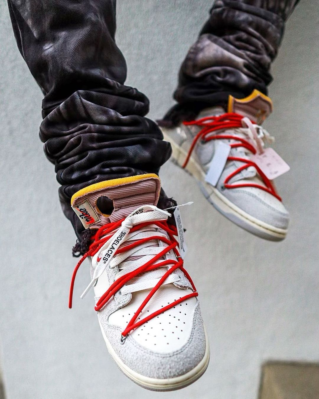 OFF-WHITE,Nike Dunk Low,The 50  随时可能突袭?!「THE 50」OW x Dunk Low 上脚图首次曝光!
