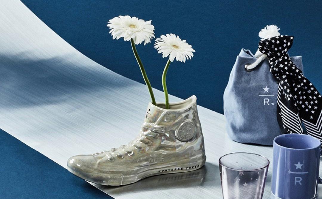 Converse Japan,STARBUCKS  罕见星巴克联名鞋!Converse x STARBUCKS 正式发售!但是...