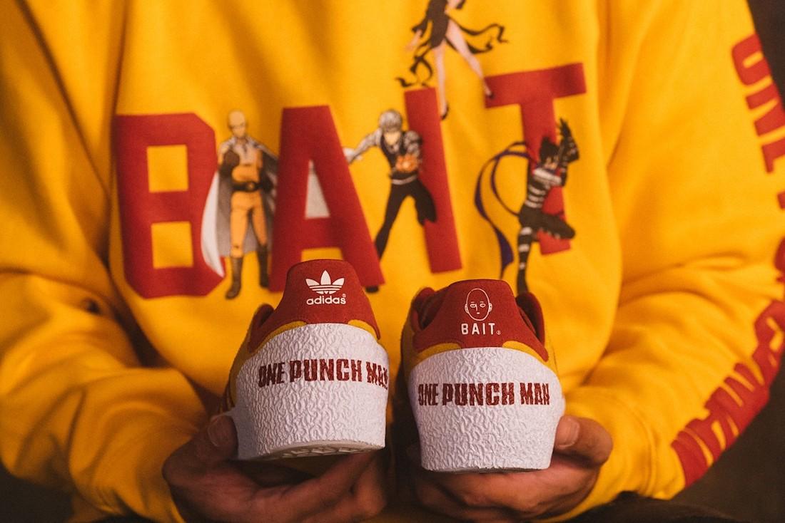 BAIT,One Punch Man,adidas,Mont  热血情怀!全新一拳超人 x adidas 三方联名今日发售!