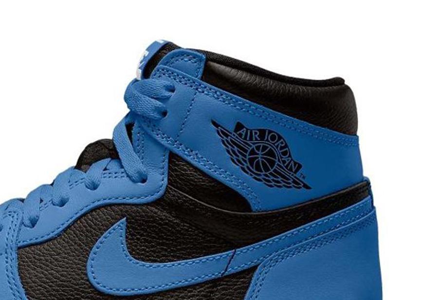 AJ1,Air Jordan 1 High OG,Dark  「新皇家蓝」Air Jordan 1 首度曝光!荔枝皮鞋身有点帅!