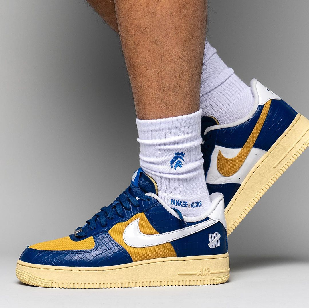 UNDFTD,Nike,Air Force 1 Low,Du  上脚曝光!UNDFTD x Nike Air Force 1 第二款配色要发售了!