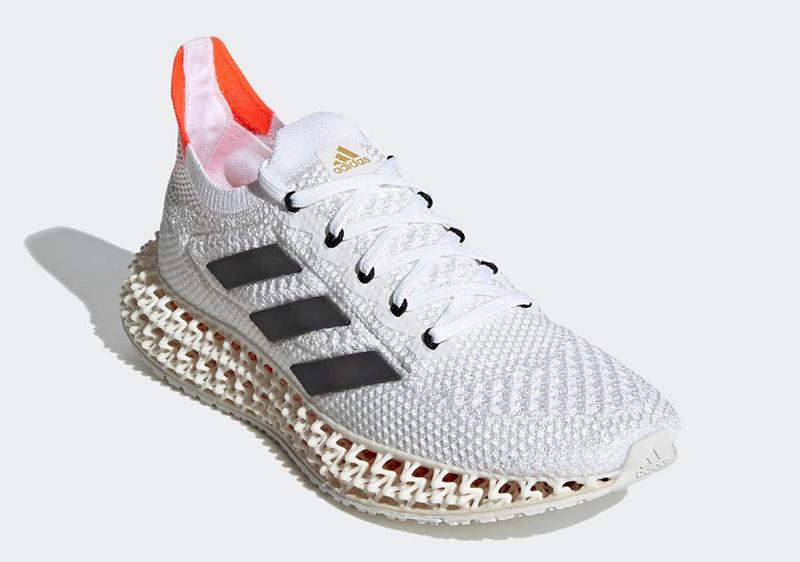 adidas,4DFWD,Tokyo,Q46443  adidas 4D 的全新鞋型来了!颜值有点顶!明天就发售!